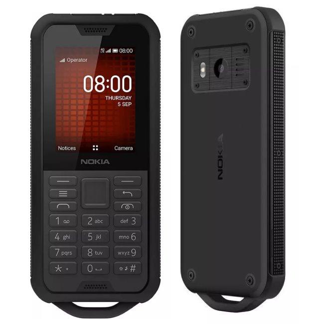 Nokia 800 Tough, Dual SIM, Black-CZ distribuce