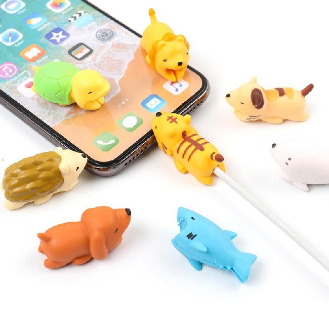 Ochrana USB kabelu, mix zvířátek