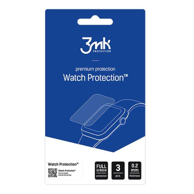 Ochranná fólie 3mk Watch Protection pro Apple Watch SE, 44 mm