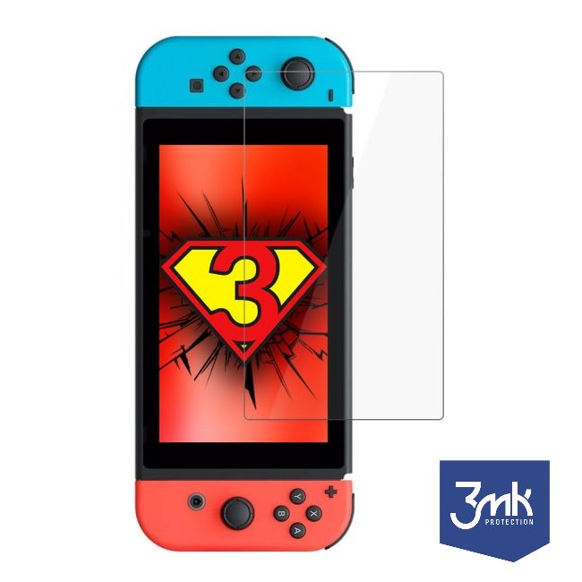 Ochranné hybridní sklo 3mk FlexibleGlass pro Nintendo Switch