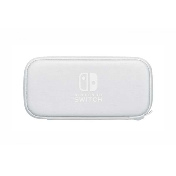 Ochranné pouzdro a fólie pro konzoli Nintendo Switch Lite, bílé