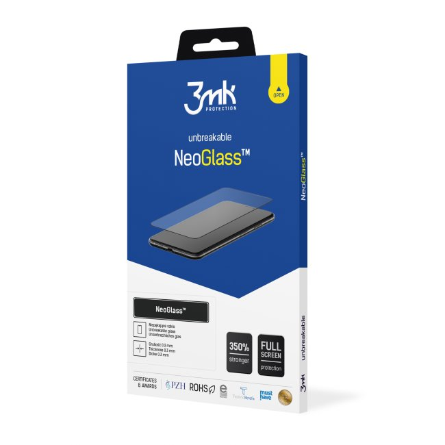 Ochranné sklo 3mk NeoGlass pro Xiaomi Redmi Note 9 Pro, black