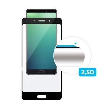 Ochranné sklo Fixed Full-Cover pro Samsung Galaxy A6 + (2018), Black