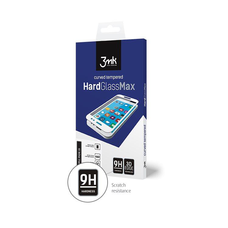Ochranné temperované sklo 3mk HardGlass Max 3D pro Apple iPhone X a Apple iPhone Xs, černé