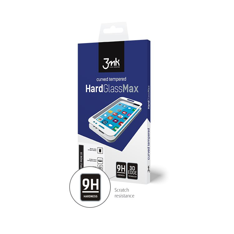 Ochranné sklo 3mk HardGlass Max 3D pro Apple iPhone Xr, černé
