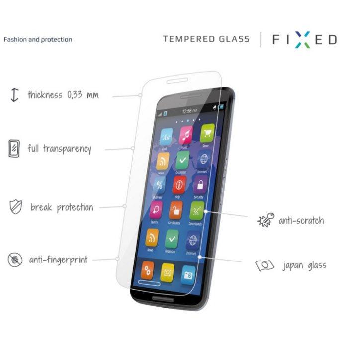 Ochranné temperované sklo Fixed Premium pro Lenovo Vibe C, (A2020)