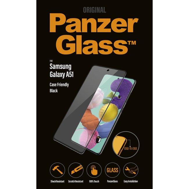 Ochranné temperované sklo PanzerGlass Case Friendly pro Samsung Galaxy A51-A515F, black