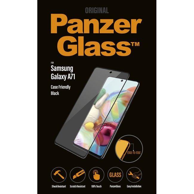 Ochranné temperované sklo PanzerGlass Case Friendly pro Samsung Galaxy A71-A715F, black