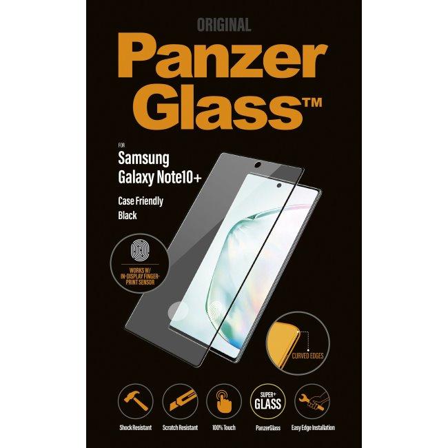 Ochranné temperované sklo PanzerGlass Case Friendly pro Samsung Galaxy Note 10 Plus-N975F, černé
