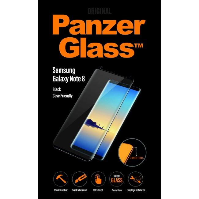 Ochranné temperované sklo PanzerGlass Case Friendly pro Samsung Galaxy Note 8-N950F, černé