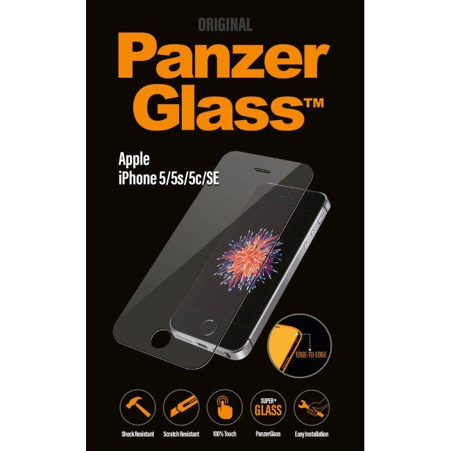 Ochranné temperované sklo PanzerGlass na celý displej pro Apple iPhone 5/5S/5C/SE