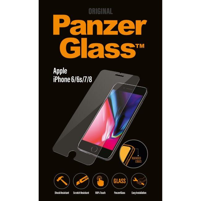 Ochranné temperované sklo PanzerGlass Standard Fit pro Apple iPhone 6/6S/7/8