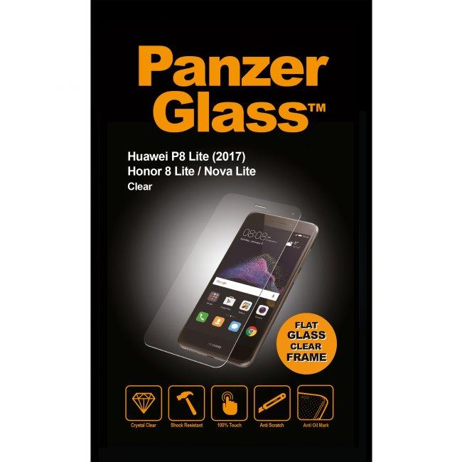 Ochranné temperované sklo PanzerGlass pro Huawei P8 Lite (2017 Edition)/Honor 8 Lite/Nova Lite