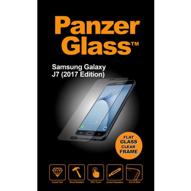 Ochranné temperované sklo PanzerGlass na celý displej pro Samsung Galaxy J7 (2017)-J730F