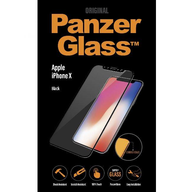 Ochranné temperované sklo PanzerGlass PREMIUM pro Apple iPhone X/Xs, černé