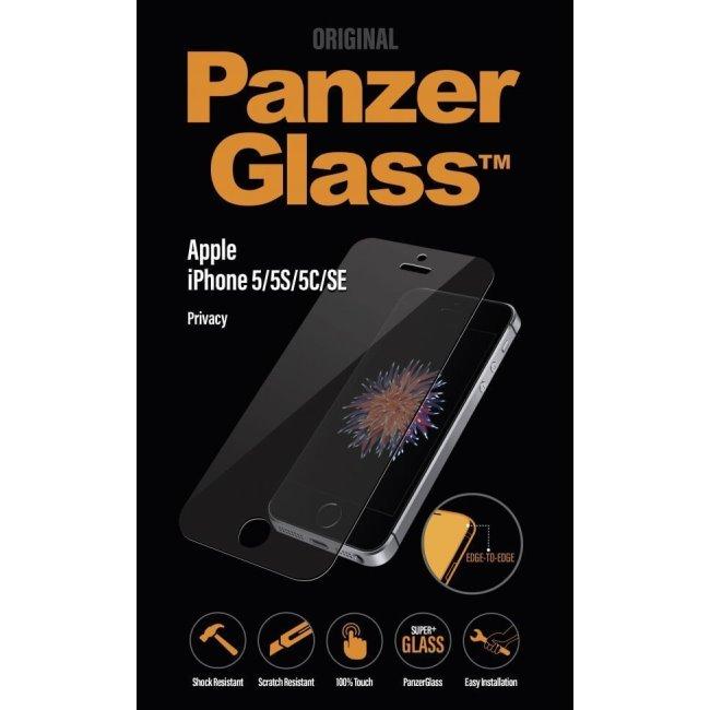 Ochranné temperované sklo PanzerGlass s privátním filtrem pro Apple iPhone 5/5S/5C/SE