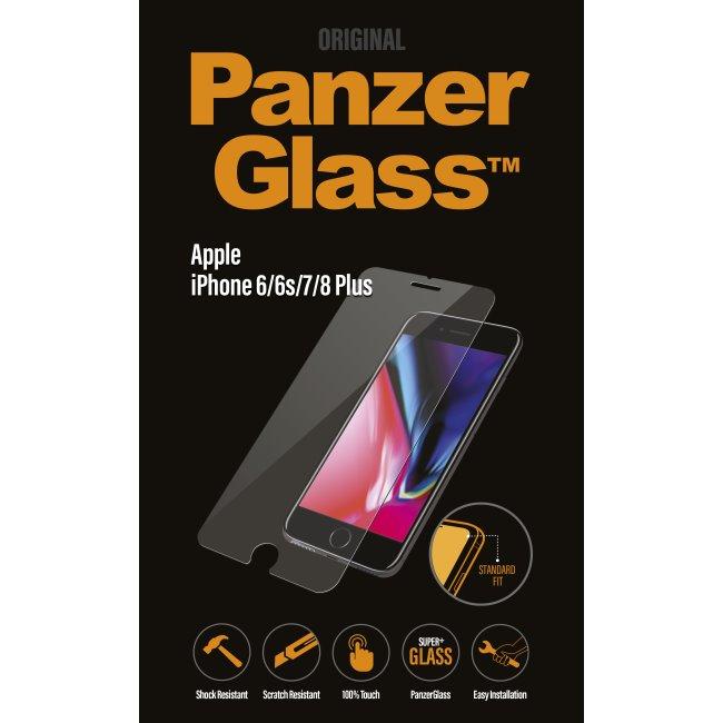 Ochranné temperované sklo PanzerGlass Standard Fit pro Apple iPhone 6/6S/7/8 Plus
