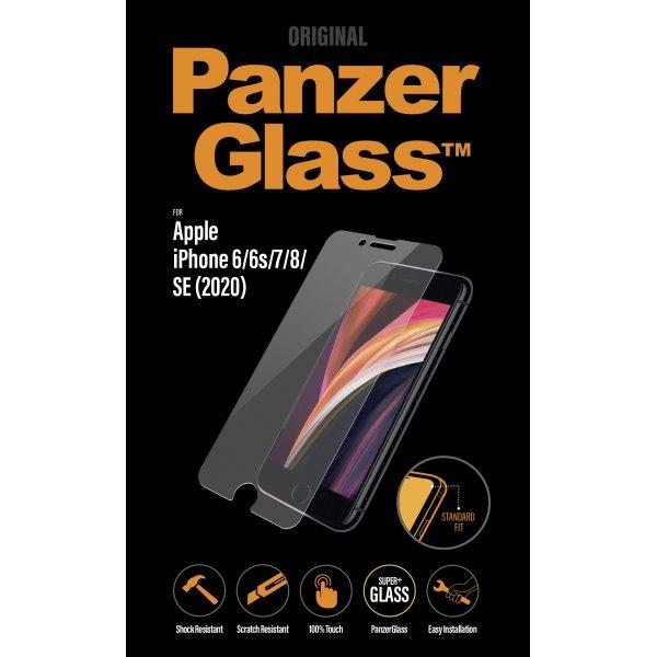 Ochranné temperované sklo PanzerGlass Standard Fit pro Apple iPhone SE/8/7/6s/6