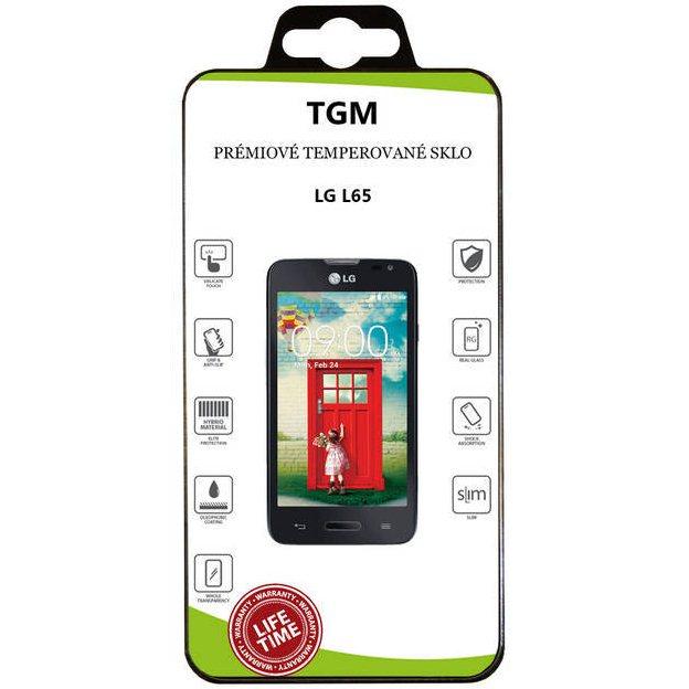 Ochranné temperované sklo TGM pro LG L65 - D280n a LG L65 - D285 - Doživotní záruka
