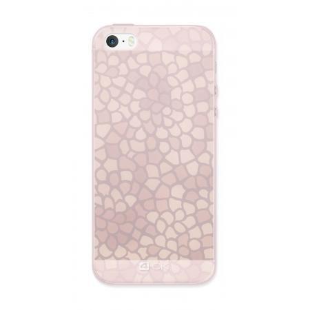 Ochranný ozdobný kryt 4-OK pro Apple Iphone 6/6S, Růžový