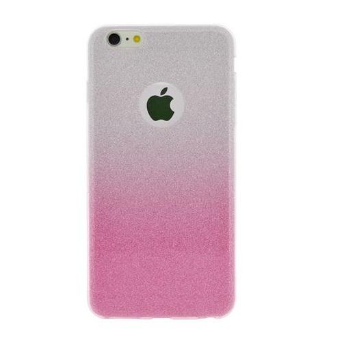 Ochranný ozdobný kryt 4-OK pro Apple Iphone 6/6S, Růžový/Stříbrný