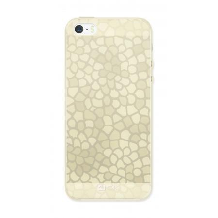 Ochranný ozdobný kryt 4-OK pro Apple Iphone 6/6S, Zlatý