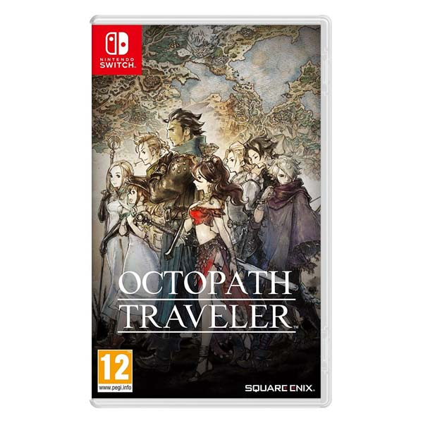 Levně Octopath Traveler