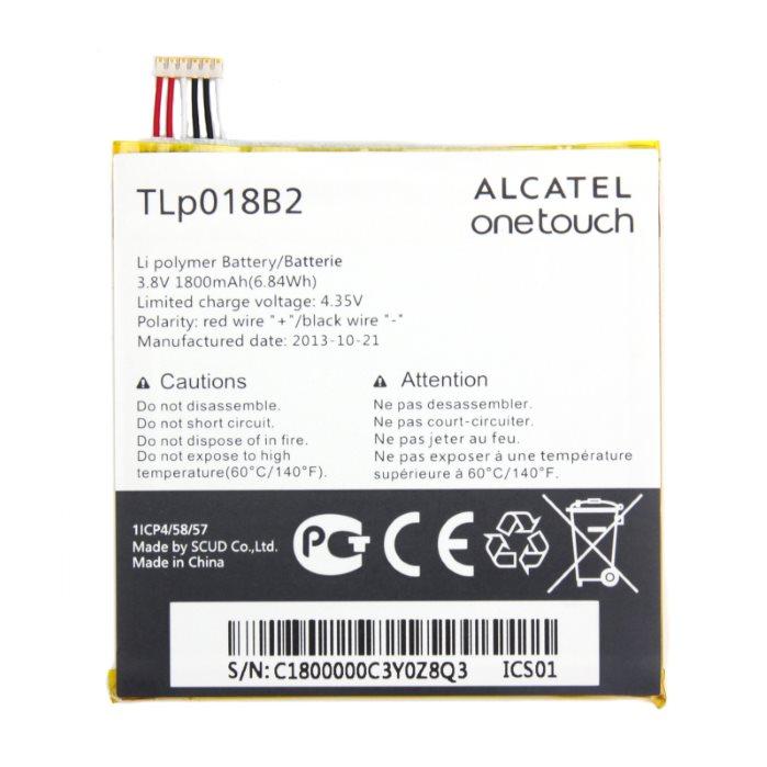 Originální baterie pro Alcatel One Touch Idol 6030 a 6030D - (1800 mAh)