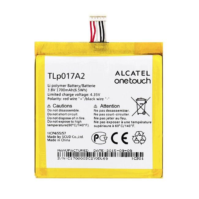 Originální baterie pro Alcatel One Touch Idol Mini - 6012D a 6012 - (1700 mAh)