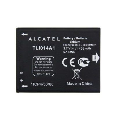 Originální baterie pro Alcatel One Touch M Pop - 5020D - (1400 mAh)