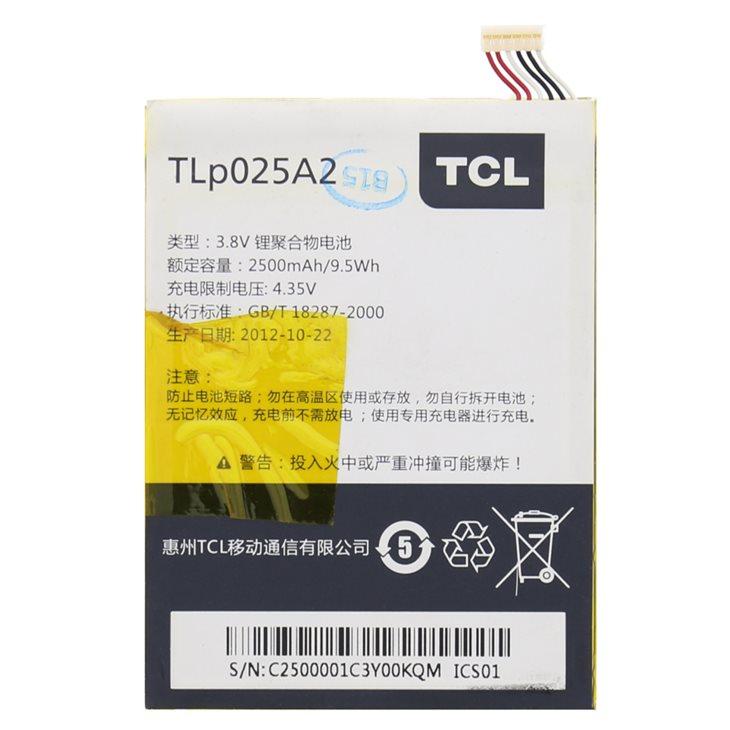 Originální baterie pro Alcatel One Touch Scribe Easy - 8000D a 8000 - (2500 mAh)
