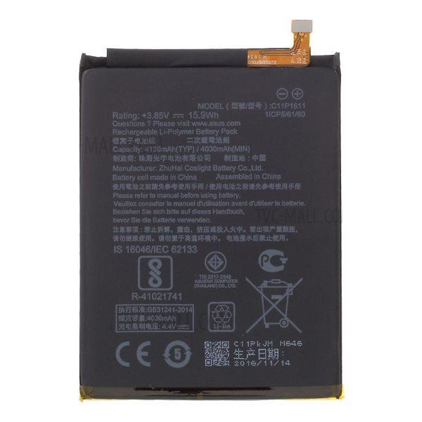 Originální baterie pro Asus Zenfone 3 Max - ZC520TL (4130mAh)