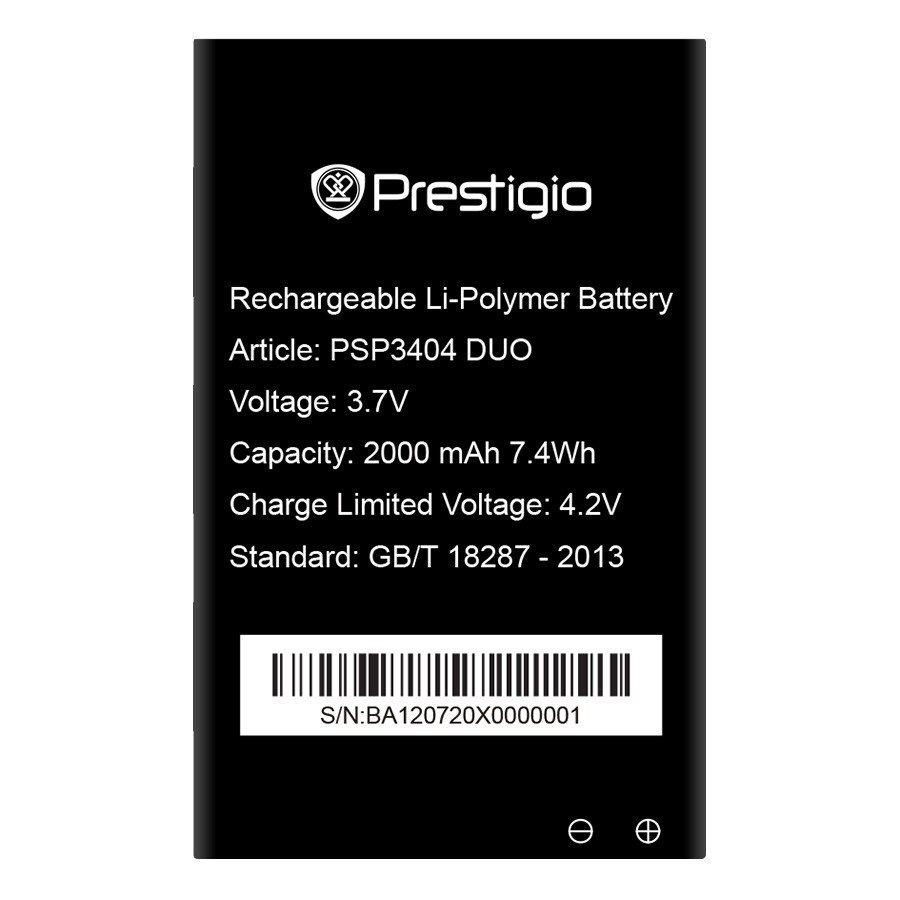 Originální baterie pro Prestigio Multiphone 3404DUO, (2000mAh)