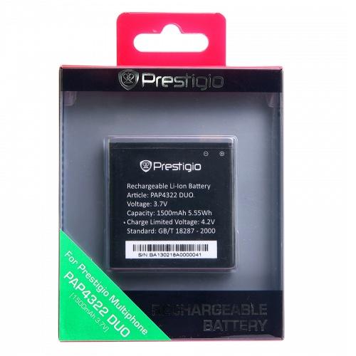 Originální baterie pro Prestigio Multiphone 4322DUO, (1500mAh)