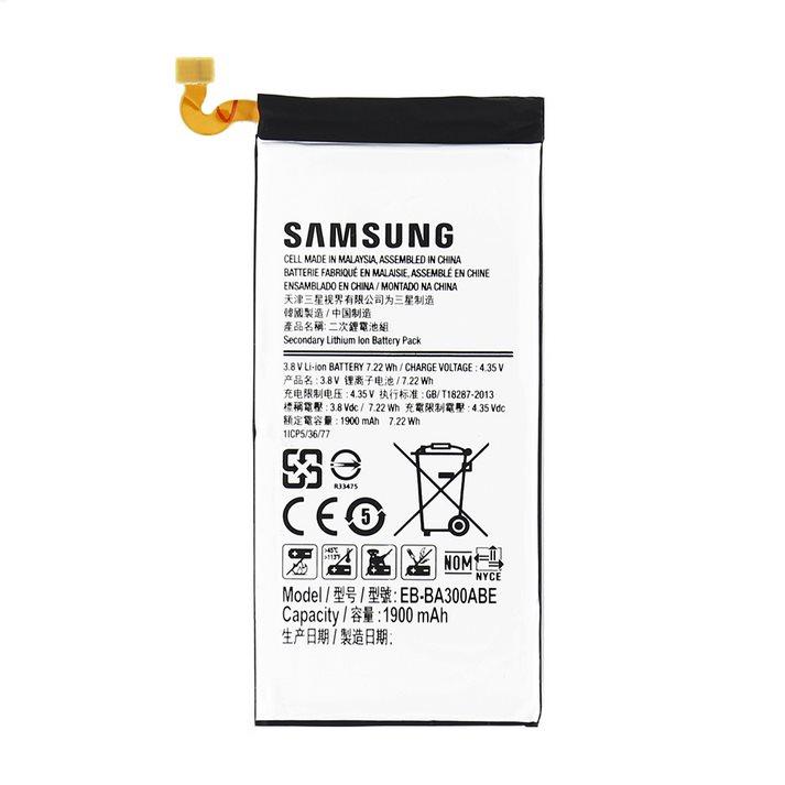 Originální baterie pro Samsung Galaxy A3 - A300F - 1900 mAh