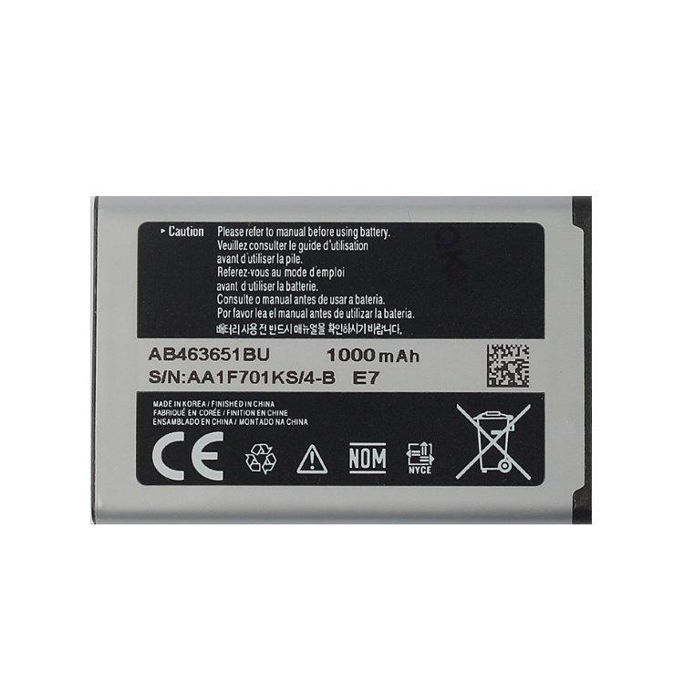 Originální baterie Samsung AB463651B, (1000mAh)