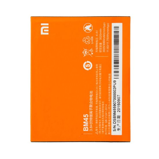Originálna batéria pre Xiaomi Redmi Note 2 (3060mAh)