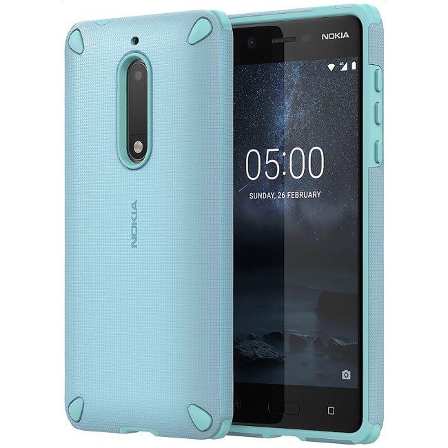 Originální pouzdro Nokia Rugged Impact CC-502 pro Nokia 5, Sage Mint