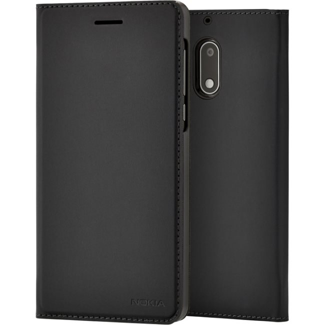 Originální pouzdro Nokia Slim Flip CP-302 pro Nokia 5, Black