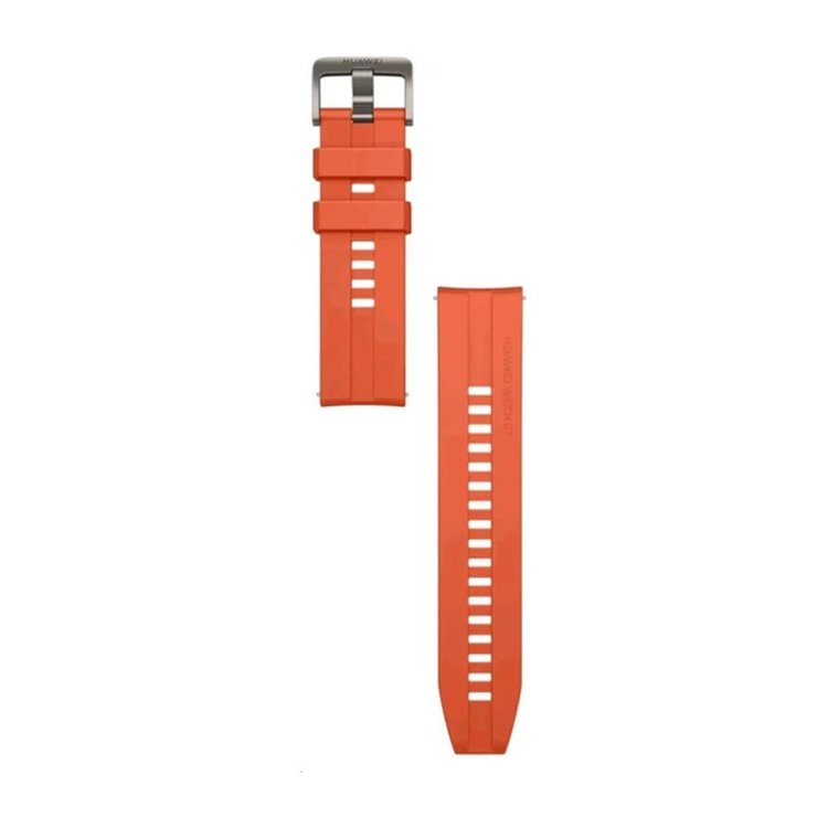 Originální řemínek Huawei 55031982 (22mm) pro Huawei Watch a Watch GT2, Orange