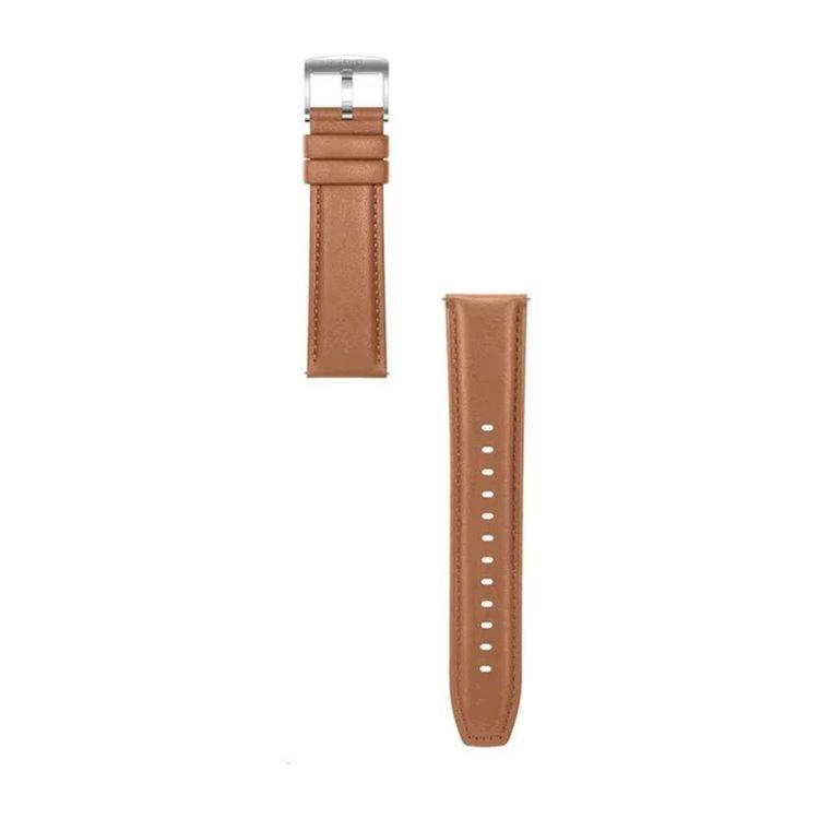 Originální řemínek Huawei 55031983 (22mm) pro Huawei Watch a Watch GT2, Brown