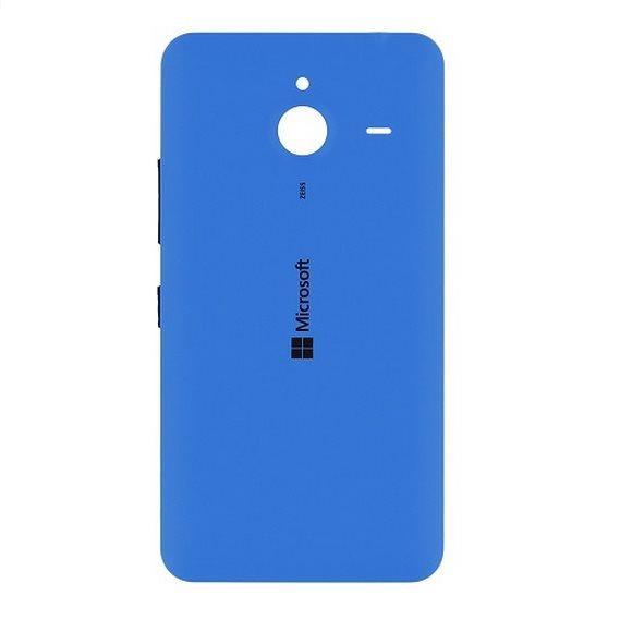 Originální zadní kryt (kryt baterie) pro Microsoft Lumia 640, Cyan