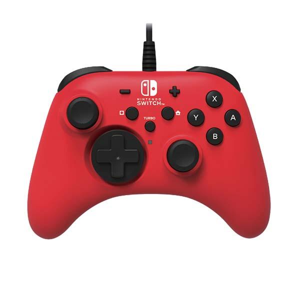 HORI Horipad pro konzole Nintendo Switch, červený