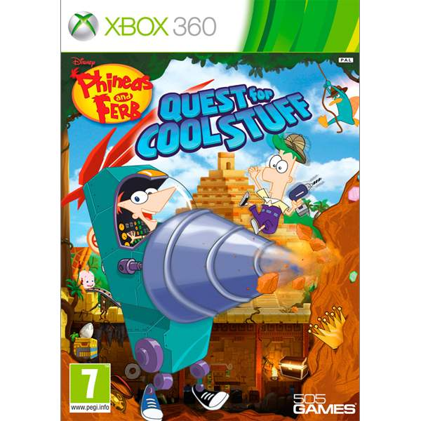Phineas & Ferb: Quest for Cool Stuff XBOX 360