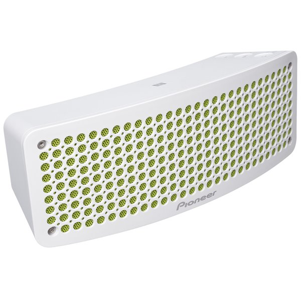 Pioneer XW-BTSP1, přenosný bluetooth / NFC reproduktor, White / Green