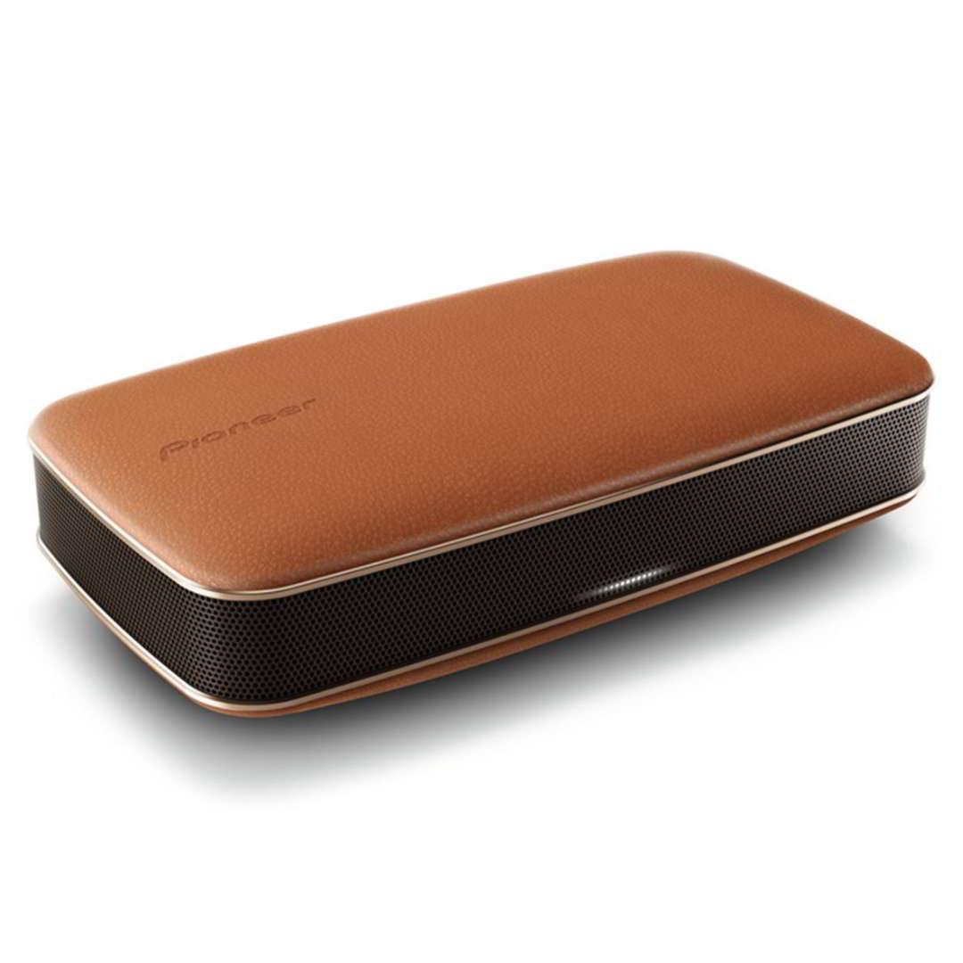 Pioneer XW-LF3, přenosný bluetooth / NFC reproduktor, Brown Leather