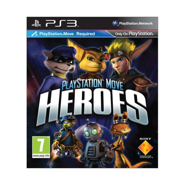 PlayStation Move Heroes-PS3-BAZAR (pou�it� zbo��)