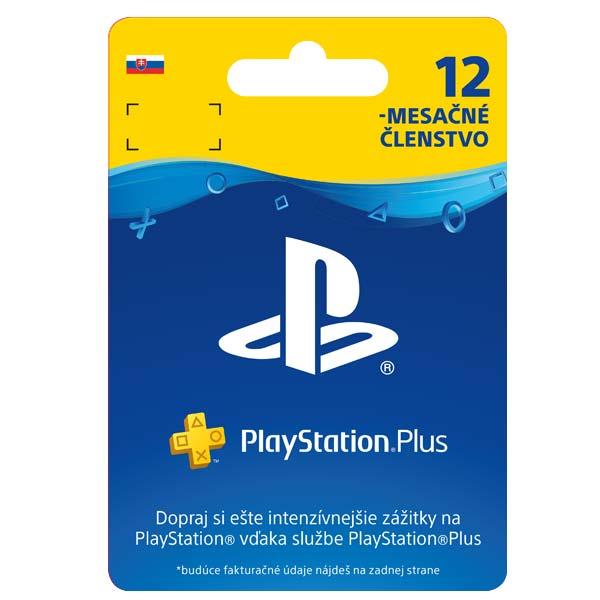 PlayStation Plus předplatné na 365 dní (SK ESD)