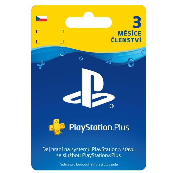 PlayStation Plus předplatné na 90 dní (CZ ESD)