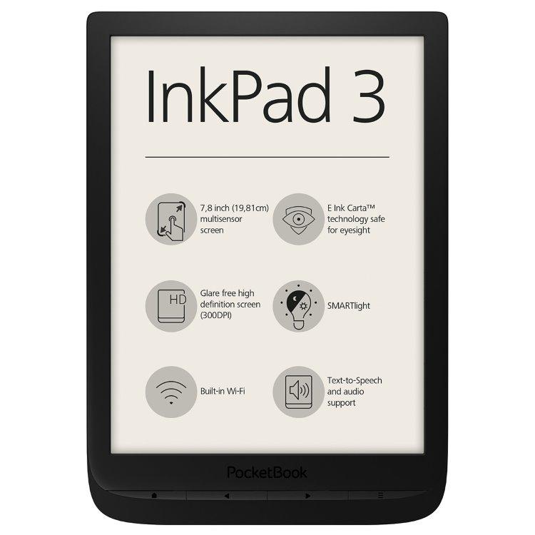 Pocketbook 740 inkpad 3, černý